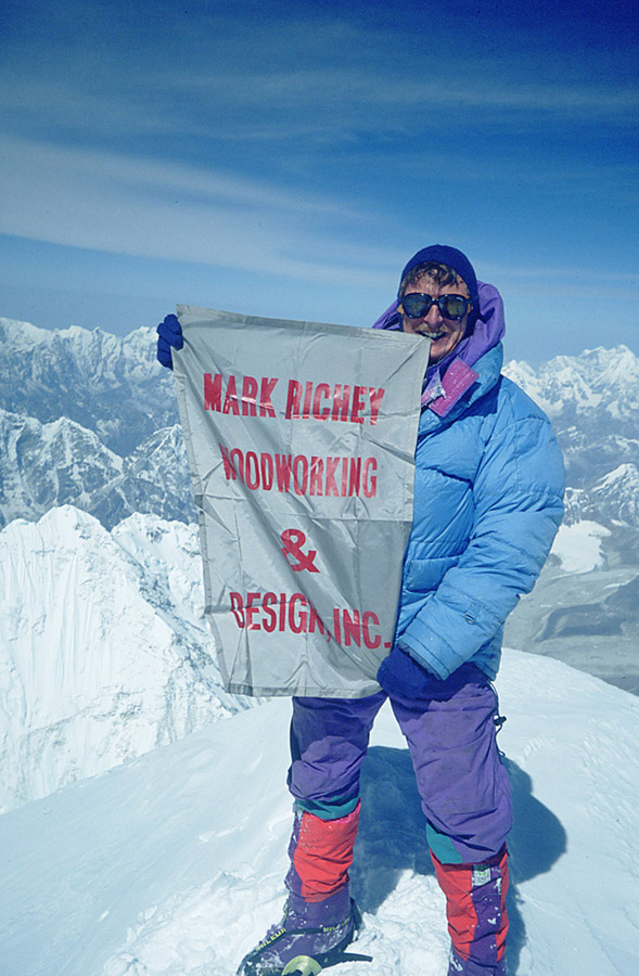 In 1991, Mark and Senior Estimator Barry Rugo successfully climbed Mount Everest.