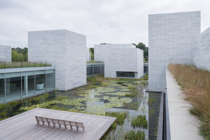 Overview of Glenstone Museum