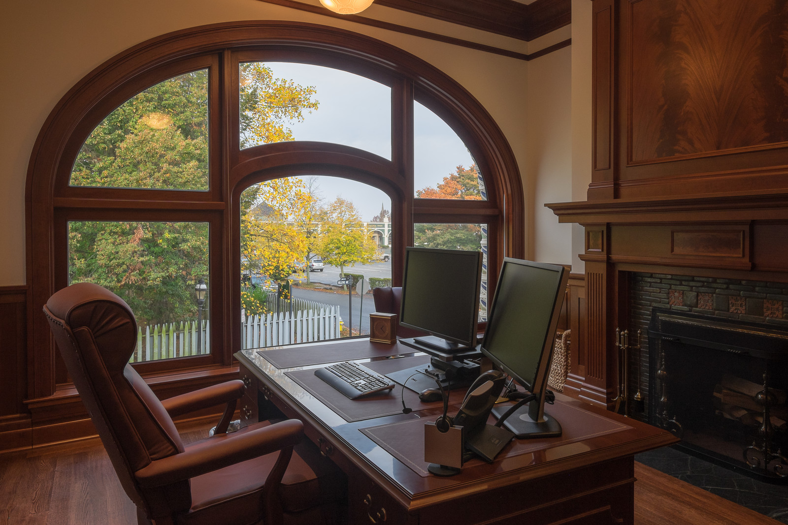 Another view of our Newport, RI custom office